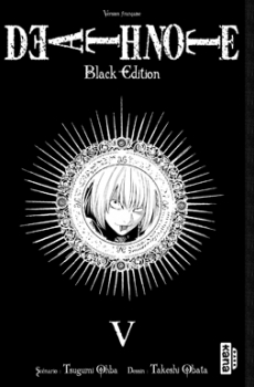 Couverture Death Note, black edition, tome 5