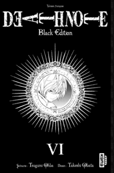 Couverture Death Note, black edition, tome 6