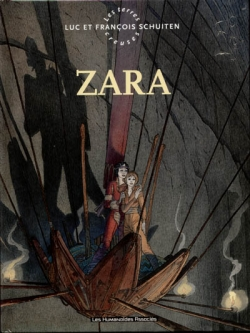 Couverture Les Terres Creuses, tome 2 : Zara