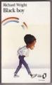 Couverture Black boy Editions Folio  1990