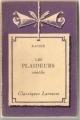 Couverture Les Plaideurs Editions Larousse (Classiques) 1935