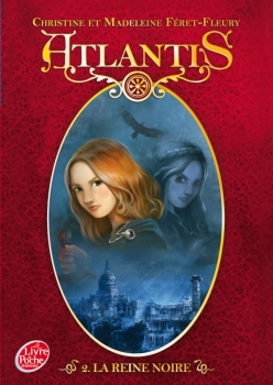Couverture Atlantis, tome 2 : La Reine noire