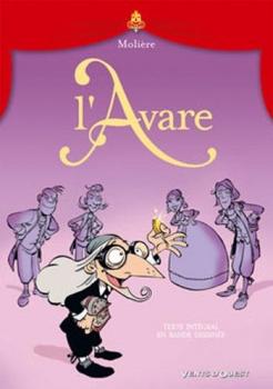 Couverture L'Avare (BD)