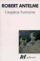 Couverture L'Espèce humaine Editions Gallimard  (Tel) 1978
