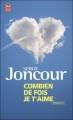 Couverture Combien de fois je t'aime Editions J'ai Lu (Nouvelles) 2009