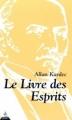 Couverture Le Livre des esprits Editions Dervy 2002