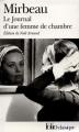 Couverture Journal d'une femme de chambre Editions Folio  (Classique) 2005
