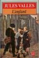 Couverture L'enfant Editions Le Livre de Poche 1985