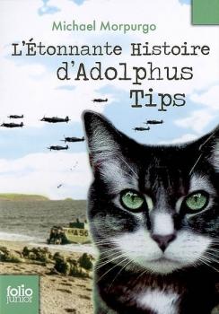 Couverture L'Etonnante Histoire d'Adolphus Tips