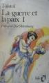 Couverture Guerre et paix (2 tomes), tome 1 Editions Folio  1972
