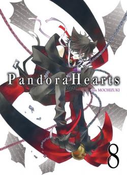Couverture Pandora Hearts, tome 08