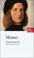 Couverture Lorenzaccio Editions Folio  (Théâtre) 2008