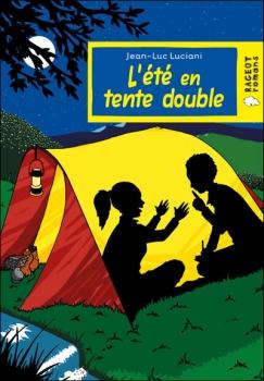 Couverture L'été en tente double