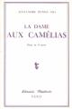Couverture La Dame aux camélias Editions Librairie théâtrale 1978