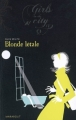 Couverture Blonde létale Editions Marabout (Girls in the city) 2008