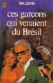 Couverture Ces garçons qui venaient du Brésil Editions J'ai Lu 1979