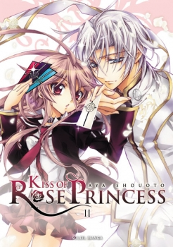 Couverture Kiss of Rose Princess, tome 2