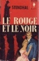 Couverture Le rouge et le noir Editions Marabout (Géant) 1962