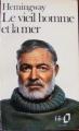 Couverture Le vieil homme et la mer Editions Folio  1974