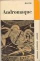 Couverture Andromaque Editions Larousse (Nouveaux classiques) 1959