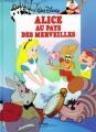 Couverture Alice au pays des merveilles Editions Disney / Hachette 1995