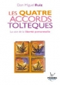 Couverture Les quatre accords toltèques Editions Jouvence (Poche) 2005
