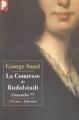 Couverture Consuelo, tome 2 : La Comtesse de Rudolstadt Editions Phebus (Libretto) 1999