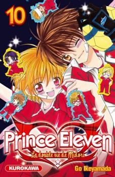 Couverture Prince Eleven - La double vie de Midori, tome 10