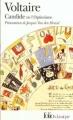 Couverture Candide / Candide ou l'optimisme Editions Folio  (Classique) 1992