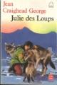 Couverture Julie des Loups Editions Le Livre de Poche (Jeunesse) 1986