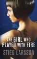 Couverture Millénium, tome 2 : La fille qui rêvait d'un bidon d'essence et d'une allumette Editions Quercus (Millenium Trilogy) 2009