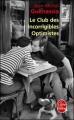 Couverture Le club des incorrigibles optimistes Editions Le Livre de Poche 2011
