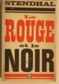 Couverture Le rouge et le noir Editions Le Livre de Poche 1972