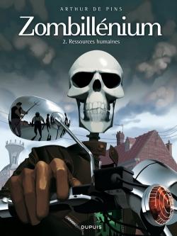 Couverture Zombillénium, tome 2 : Ressources humaines