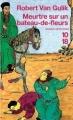 Couverture Meurtre sur un bateau-de-fleurs Editions 10/18 (Grands détectives) 1986
