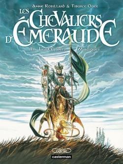 Couverture Les Chevaliers d'Émeraude (BD), tome 1  : Les enfants magiques