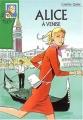 Couverture Alice à Venise Editions Hachette (Bibliothèque verte) 2004