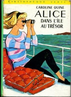 Couverture Alice dans l'île au trésor