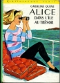Couverture Alice dans l'île au trésor Editions Hachette (Bibliothèque verte) 1966