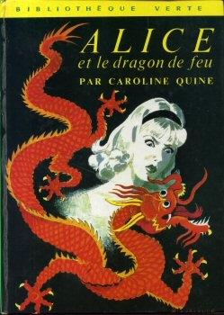 Couverture Alice et le dragon de feu