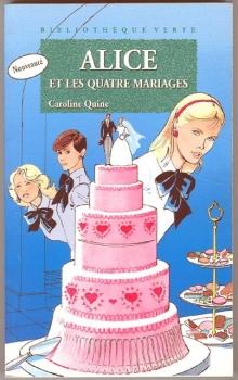 Couverture Alice et les Quatre Mariages