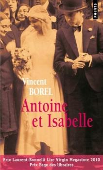 Couverture Antoine et Isabelle