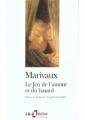 Couverture Le jeu de l'amour et du hasard Editions Folio  (Théâtre) 2003