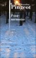 Couverture Pour mémoire Editions Julliard 2011