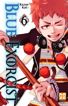 Couverture Blue Exorcist, tome 06