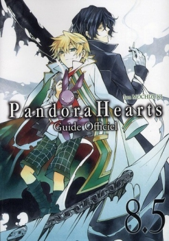Couverture Pandora Hearts, tome 08.5 : Guide Officiel