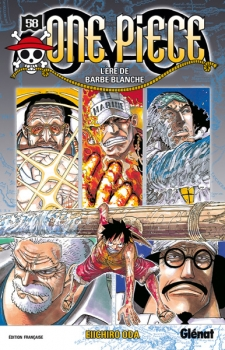 Couverture One Piece, tome 58 : L'ère de Barbe Blanche