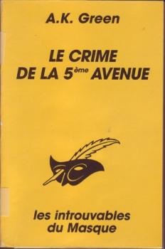 Couverture Le crime de la 5ème avenue