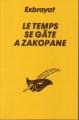 Couverture Le temps se gâte à Zakopane Editions du Masque 1996