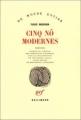 Couverture Cinq nôs modernes Editions Gallimard  (Du monde entier) 1984